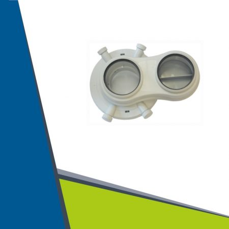 Vaillant dividing adapter 60/100-ről 2x80-ra