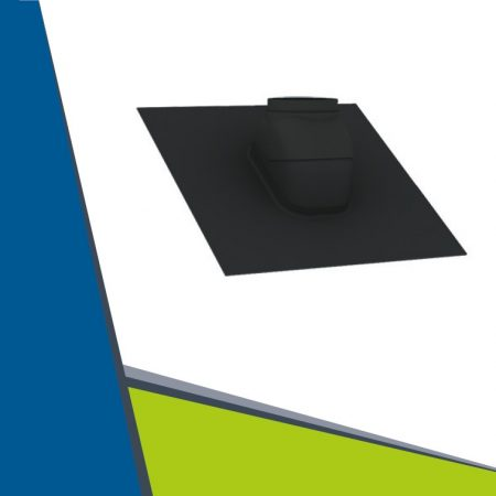 Inclined roof flashing D100-125 mm