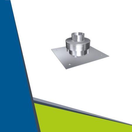 INOX kürtőfedél D160
