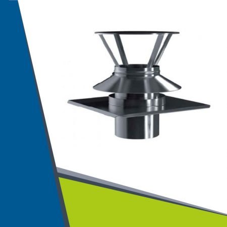 INOX combinated roof plate D80