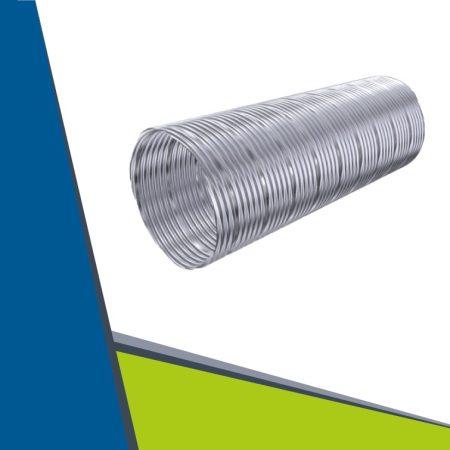 INOX flexibilis cső D160