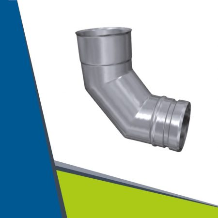 INOX elbow 93° D120