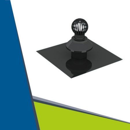 PPs roof plate with air uptake D110