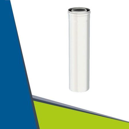 PPs/Alu cső 1000mm D100/150