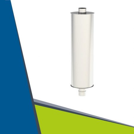 INOX hangtompító D200