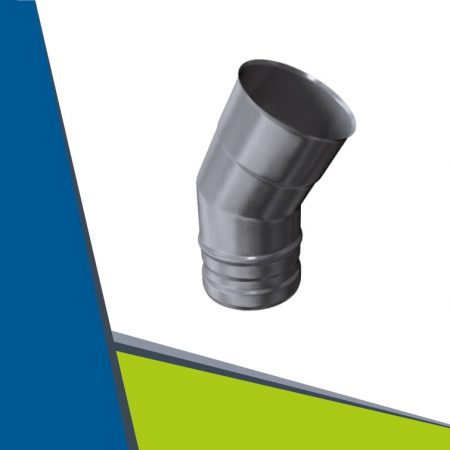 INOX elbow 30° D400