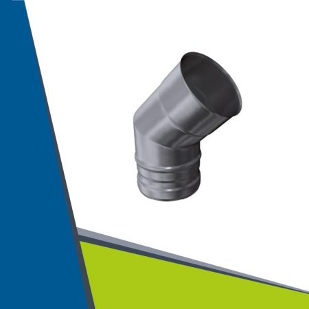 INOX elbow 45° D160
